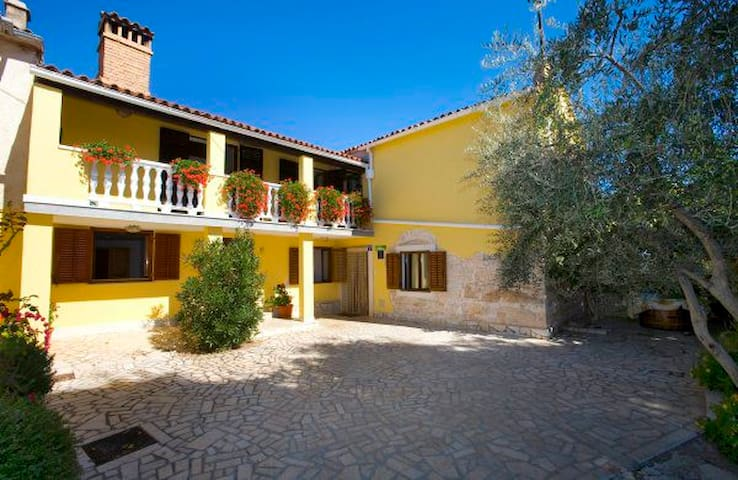 Stone VILLA for 10 people with pool - Žminj - Villa