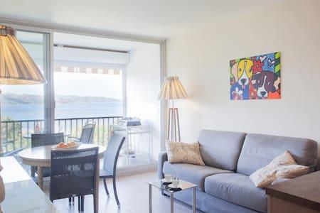 apartment with sea & sunset view - Patrimonio - Ortak mülk