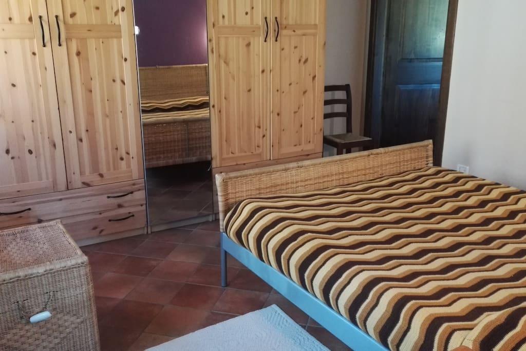 Scorcio della camera da letto