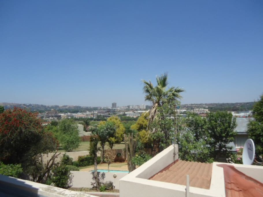 View of  Johannesburg & Eastgate Shopping Centre