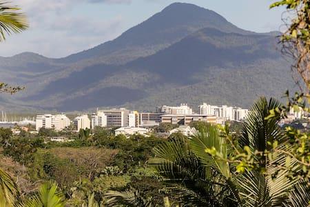 Tropical Oasis Overlooking Cairns