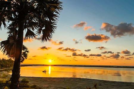 Kite Surf Comfort Rooms With Lagoon & Ocean View - Kalpitiya