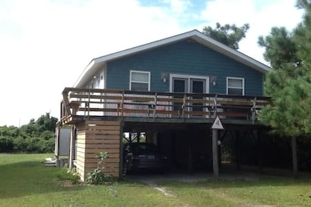 Affordable classic beach cottage - Oak Island - Huis