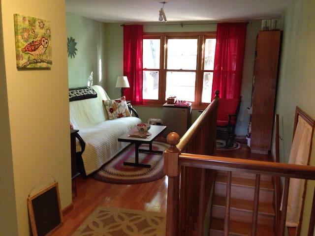 Cozy private suite near colleges - Saint Paul - Ev