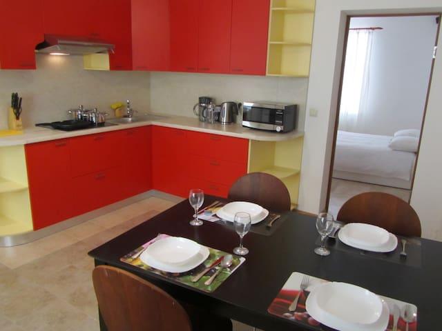 alloggio romantico con caminetto - Ventspils - Apartment