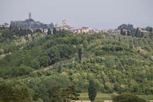 Vista della Rocca di San Miniato