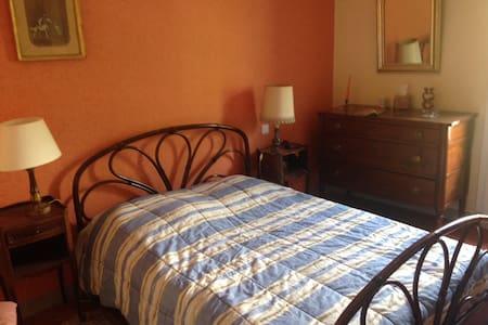 Chambre calme dans maison familiale - Le Poujol-sur-Orb