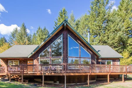 Quiet, beautiful country home/cabin - Camas
