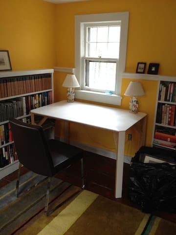 Desk in second upstairs bedroom