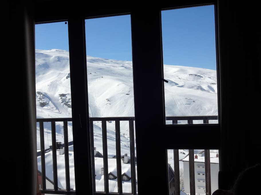These are the spectacular views from the sofa