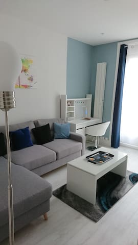 Bright apartment close to the city center