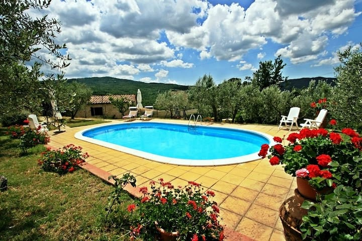 Typical Farmhouse with private pool - San Dalmazio - Ev