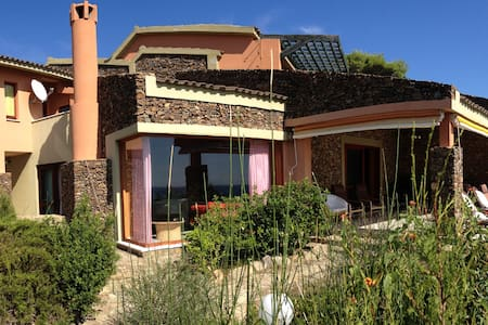 AMAZING VILLA NEXT TO THE BEACH (WIFI + CLIMA) - Villasimius - Villa