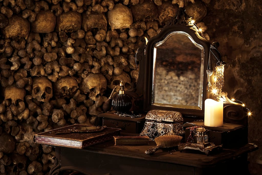 Halloween Night in Paris Catacombs