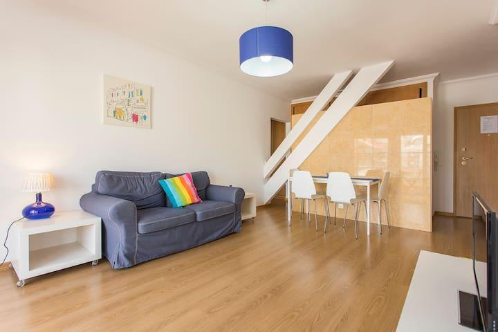 Modern one bed 2E - Lissabon - Appartement