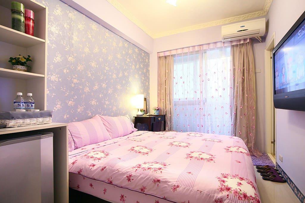 紫色薰衣草雙人套房
