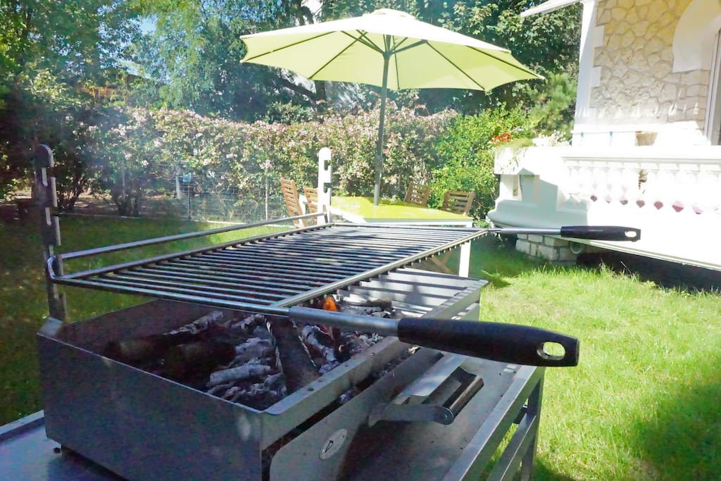 barbecue à disposition