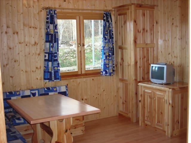casas de madera cinco castaños