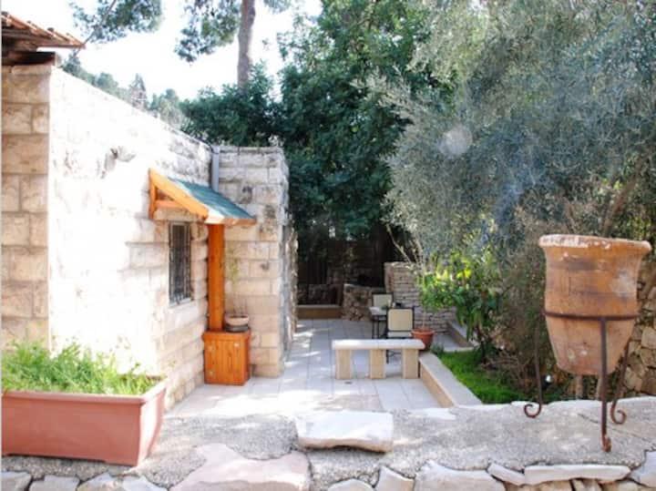 The hidden path in Ein Karem