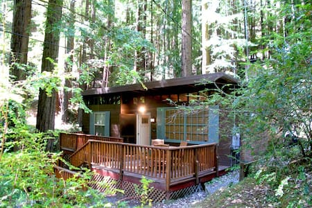 CAZADERO HEAVEN Redwoods|Hot Tub|Walk to Creek - Cazadero