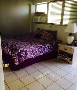 Private bedroom for use in Waikiki!