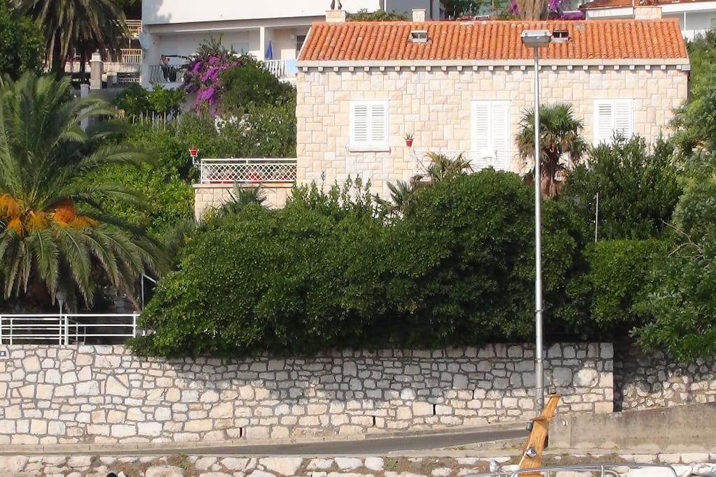 Our apartments are situated in traditional Dalmatian stone house.