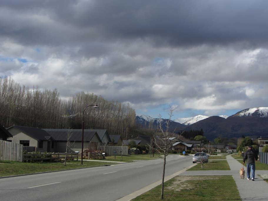 Sylvan Street Looking North