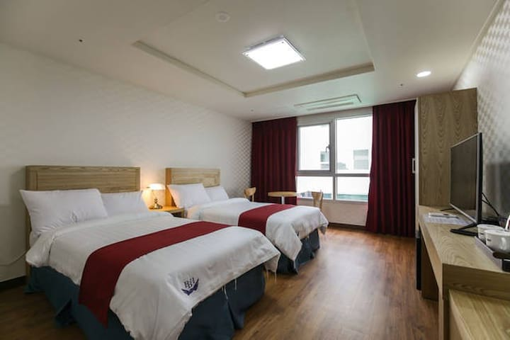 breezebay/single twin room(no view) - Seogwipo-si - Andet