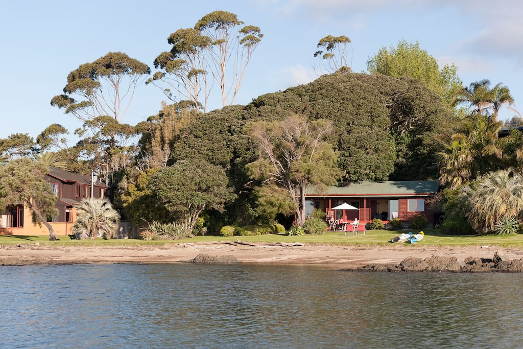 Cove cottage from the water