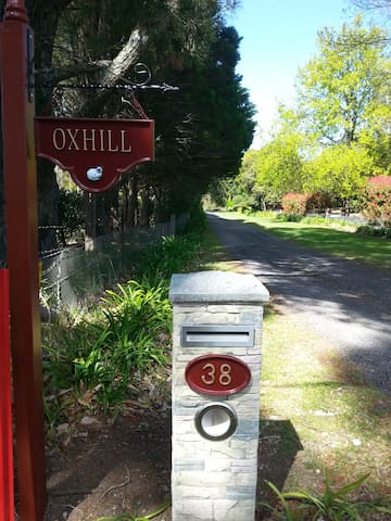 Oxhill. Number 38. We are 100m in from the street, nice and quiet