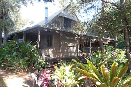 Rainforest Haven , near beaches  , close to town - Mullumbimby - Hus