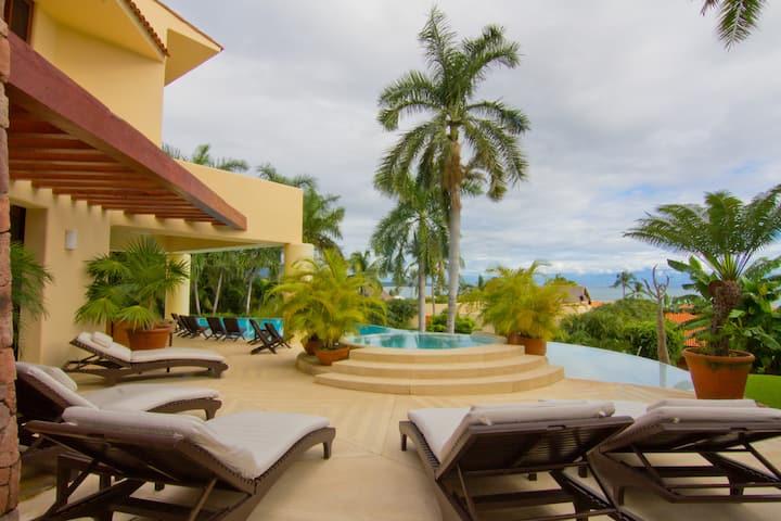 5Bdrm 7Bath Punta Mita Villa Ocean