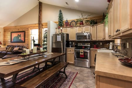 Lazy Bear Lodge Beautifully decorated luxury cabin - Branson - Lejlighedskompleks