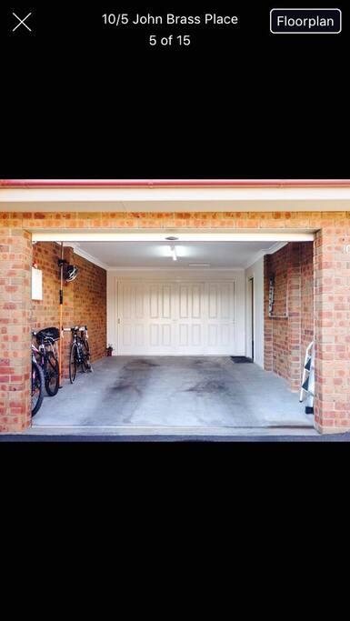 Large one car garage