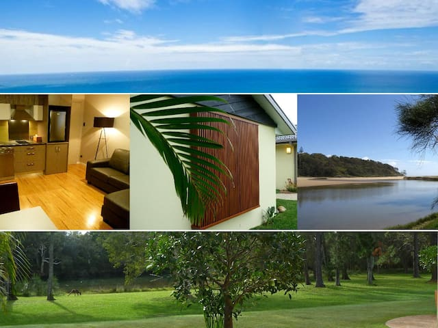 Golden Cane Couples Retreat - Woolgoolga - Apartemen