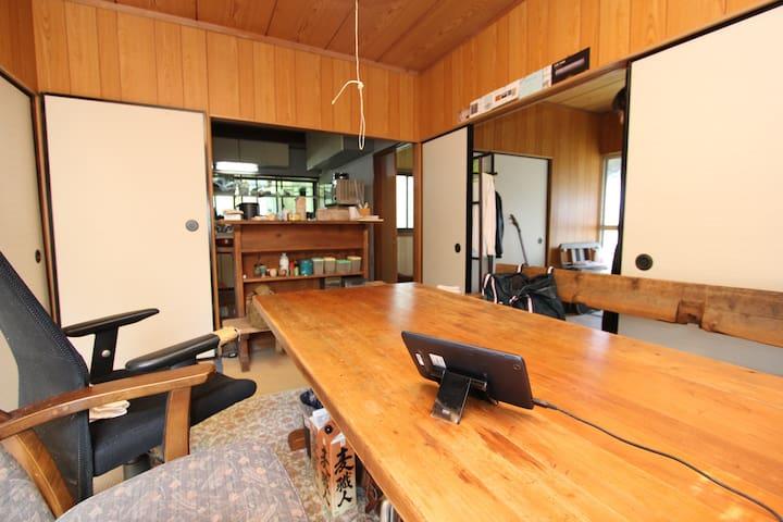 横須賀の丘の上、眺望良い築60年の木造日本家屋 - Yokosuka - House