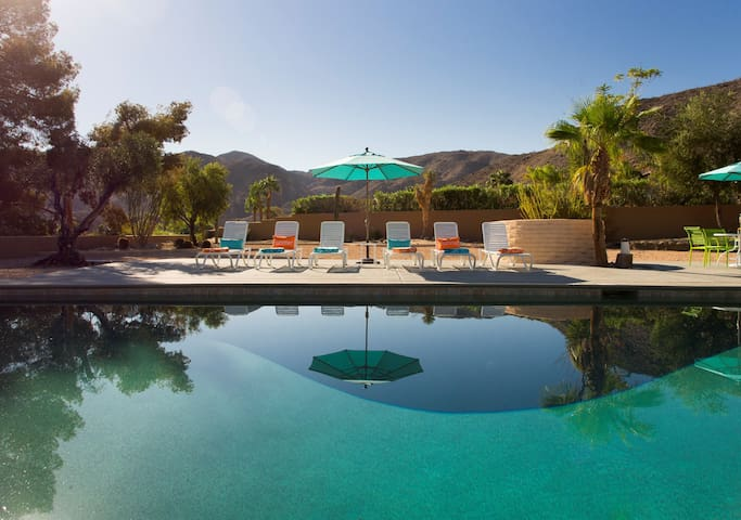 Palm Springs, The Cove House - Cathedral City - Huis