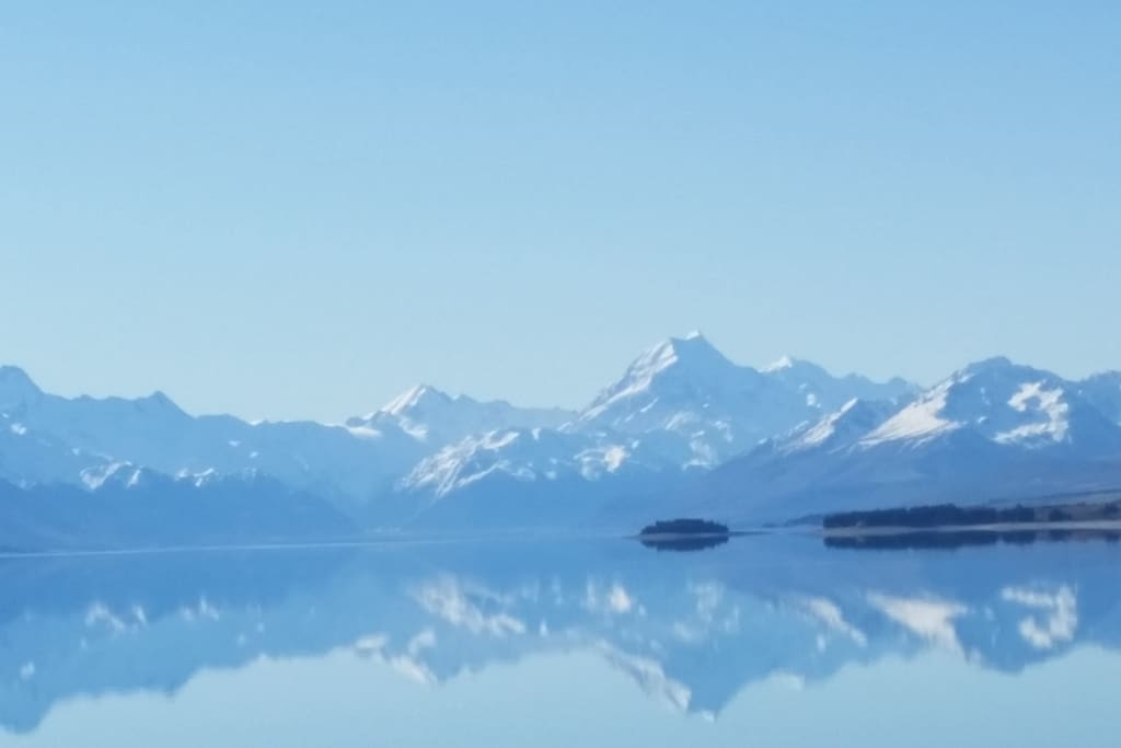 view of mount cook, 8kms from house