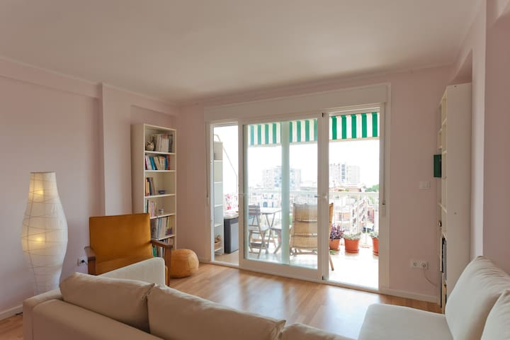 Appartment with views in Palma de M - Palma de Mallorca - Apartament