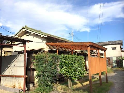 Quiet House next rice filed /WiFi/ Car park/Bikes