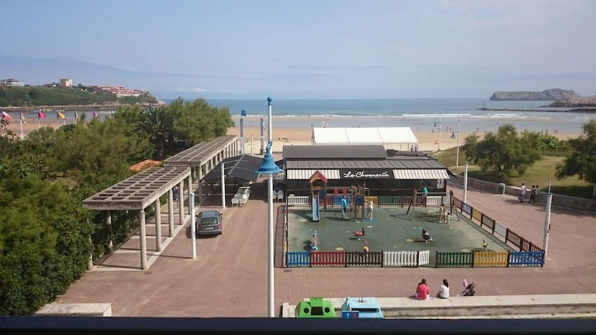 APARTAMENTO 1ª LINEA PLAYA CONCHA. - Suances - Appartement