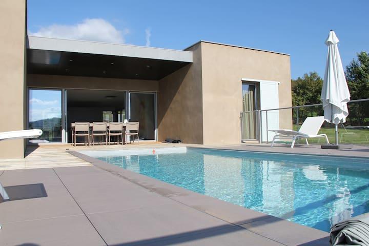 Les villas de Labro, villa Alayrac - Espalion - Huis