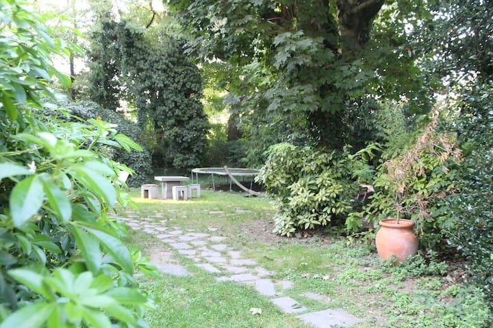 House with garden 15mn from Paris - Bourg-la-Reine - Casa