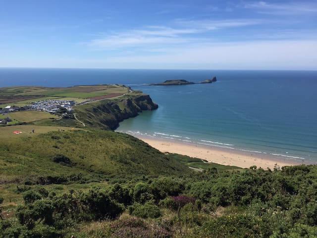 Wonderful, relaxing beach house - Middleton, Rhossili - House