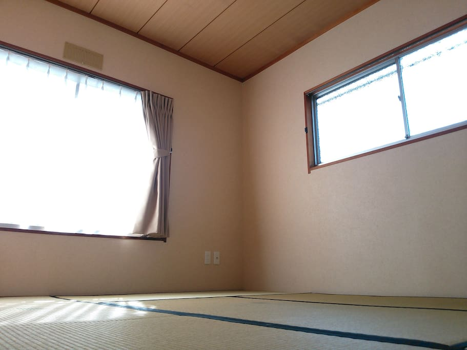 Japanese-style private triple room