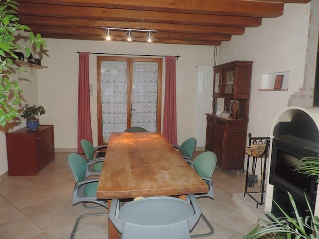 Grande et claire maison familliale - La Ferté-Saint-Aubin - Huis