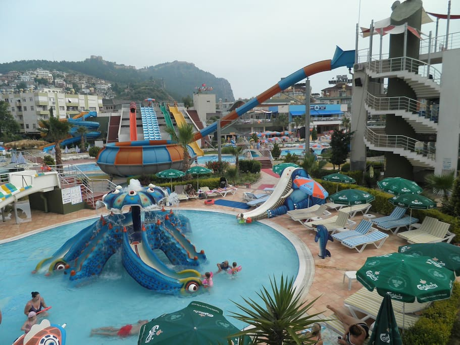 Aquapark 50 meters from apartment