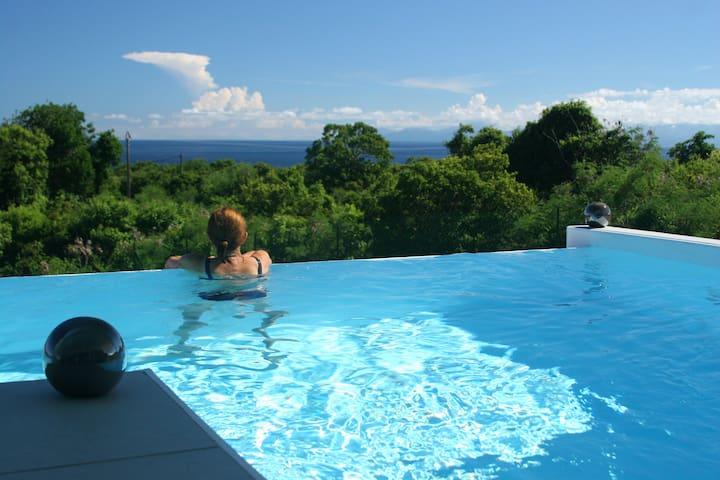 Villa 2 chambres, Vue mer, Piscine - Capesterre-de-Marie-Galante