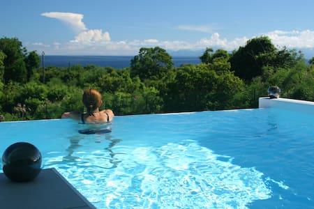 Villa 2 chambres, Vue mer, Piscine - Capesterre-de-Marie-Galante - Casa