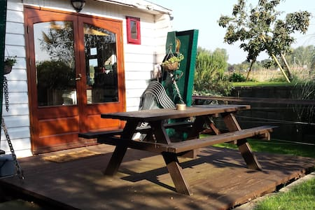 Comfortable riverside landed houseboat - Maldon - Other